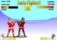 Fighting-game-met-santa