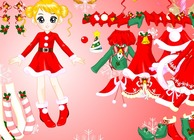 Game-girl-dress-up-en-kerstmis