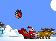 Game-harvest-giften-met-santa